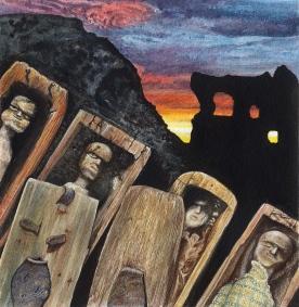 seventeen tiny coffins- Midlothian tales