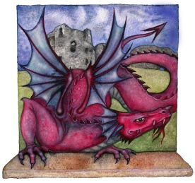 Welsh Dragon - Denbighshire