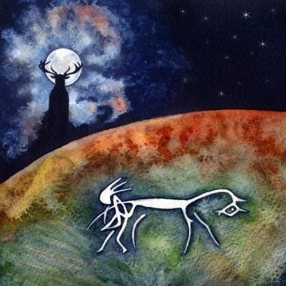 Wayland and the Uffington horse - Berkshire